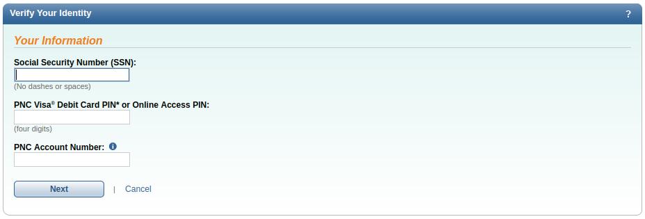 GuruNotes - PNC Online Banking: login | sign up